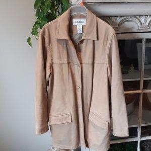 Nubuck Leather Shacket M
